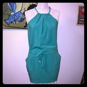 Soft green Rachel Roy Rope Necked Dress